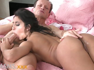 ORGASMS Tanned hungarian dreamboat loves to ride his cock