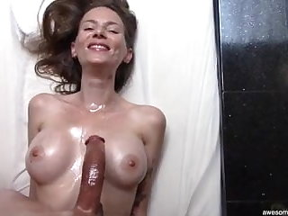 Beautiful Bony MILF Loves My Curved Unearth