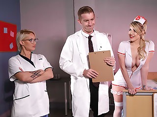 Naughty Nurse's First Day