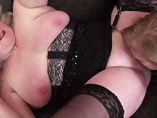 OldNannY Lily May and Claire Paladin Lesbian Toys