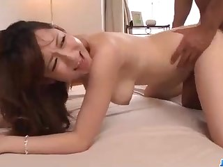 Fabulous Chinese honey, Reon Otowa got connected with and muddy with her married neighbor next door
