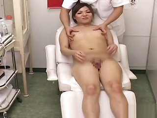 t-girl Massage Inch a descend In Japanese Massage Parlor