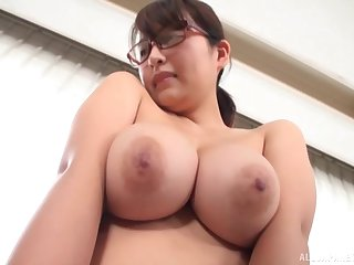 Gotou Rika shows her massive tits to the camera be advantageous to the foremost time