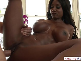 Hot interracial going to bed with dusky mam Diamond Jackson