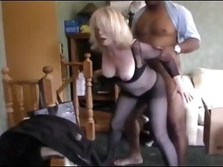 Blonde adult wife get fucked at the end of one's tether bbc and hubby watch