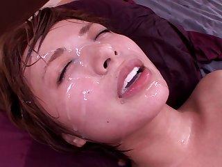 Sex scenes encircling cheating become man Rika Hoshimi riding a neighbor